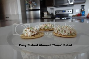 Easy Flaked Almond Tuna Salad