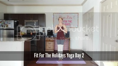 Fit For the Holidays Yoga Workout 2