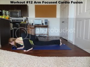 Workout #12 Arm Focused Cardio Fusion