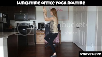 Lunchtime Office Yoga Routine
