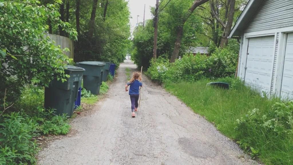 alley walk