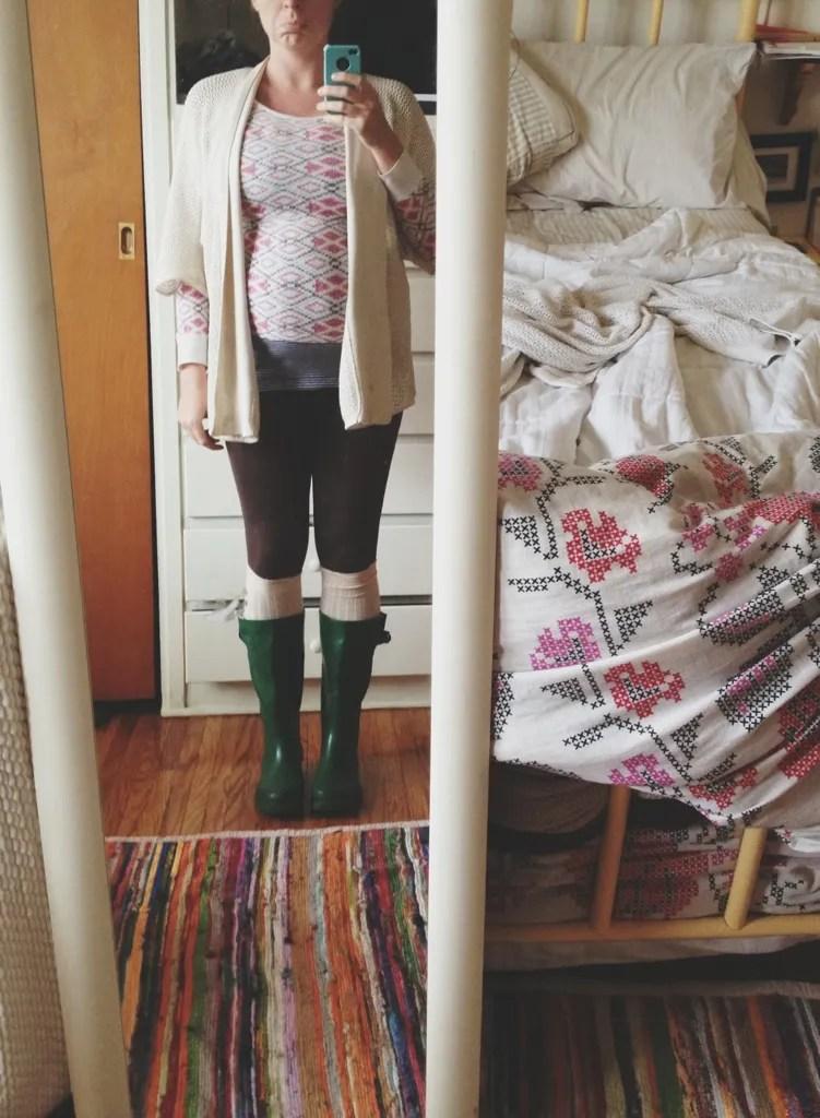 pregnancy wardrobe