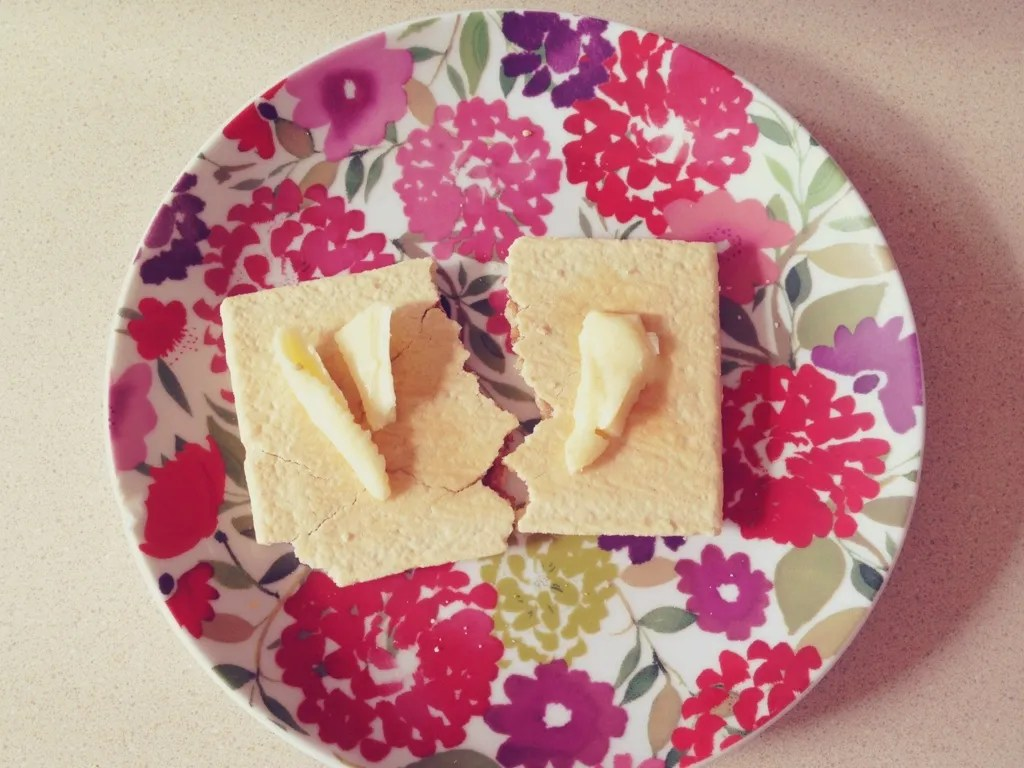 poptarts & butter pregnancy eats