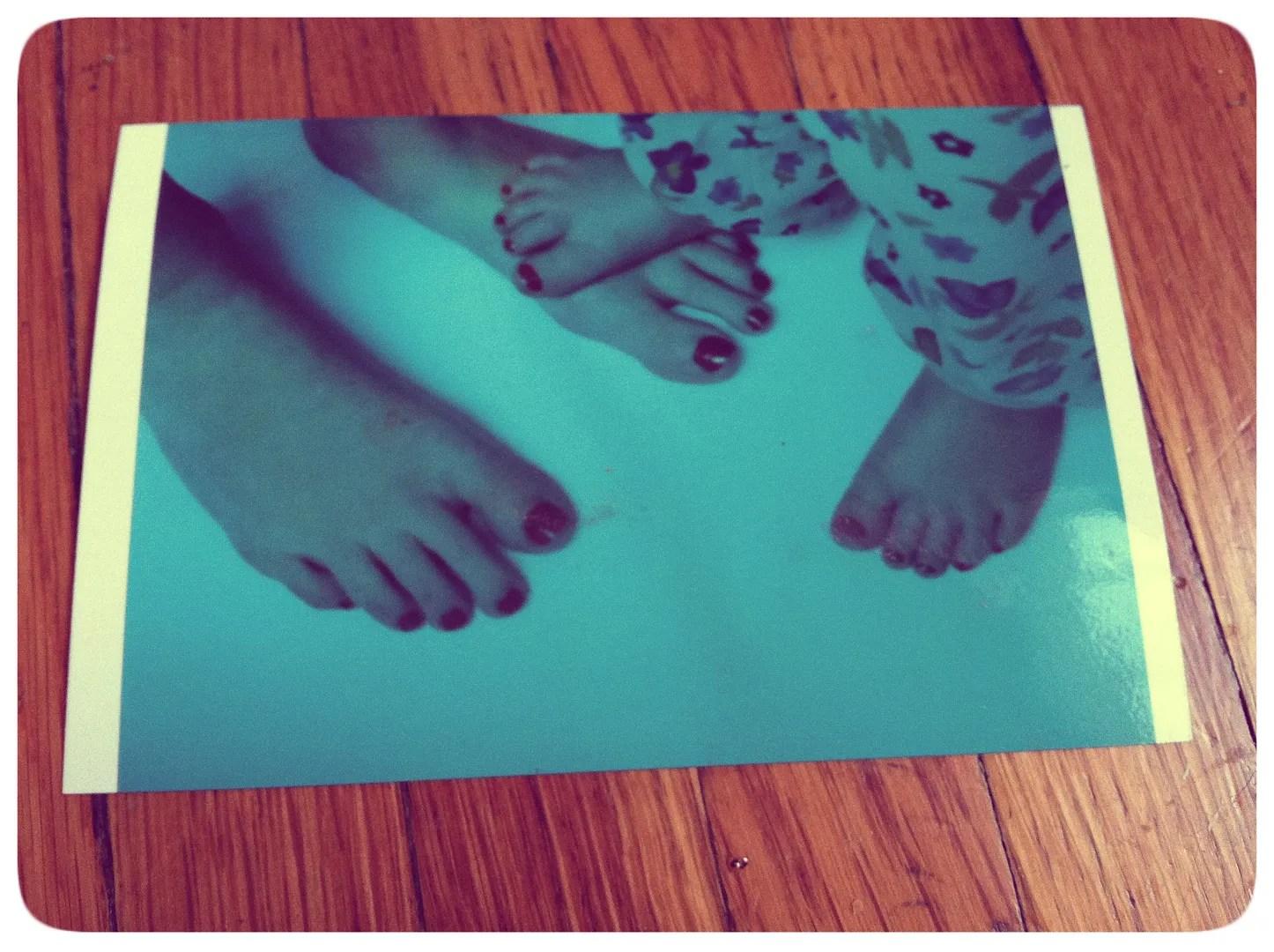 leibovitz feet