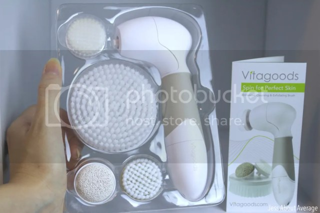 Vanity Planet Spin For Perfect Skin Exfoliation Brush