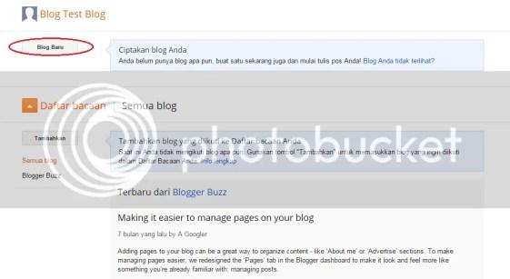 Cara Buat Blog Sendiri Secara Gratis di Blogger