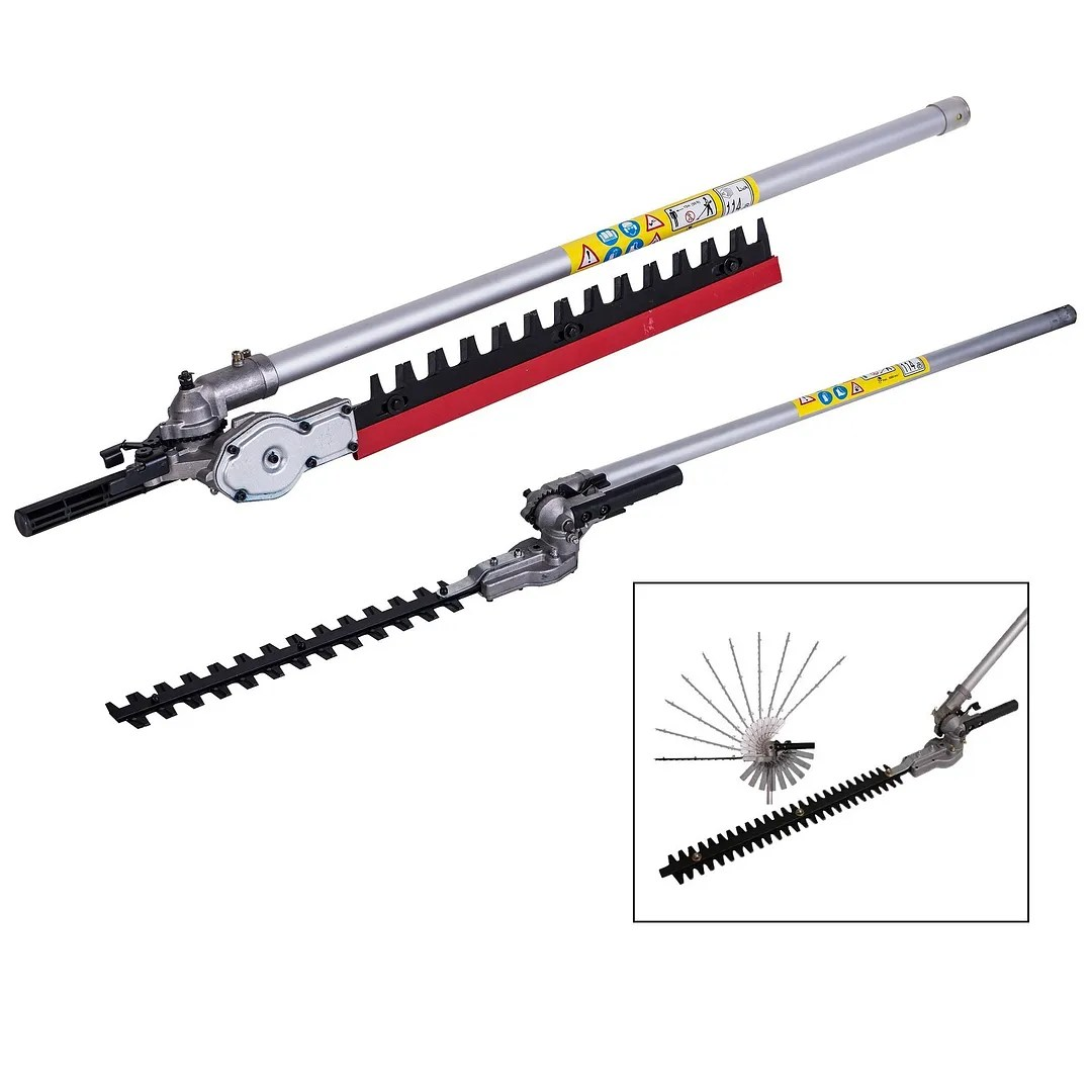 52cc 5 In 1 Hedge Trimmer Chainsaw Strimmer Brush