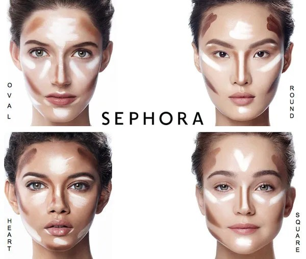 Make-up DIY: waar breng je in godsnaam blush aan? photo gezichtsvormen_zpsvvylrgjw.jpg