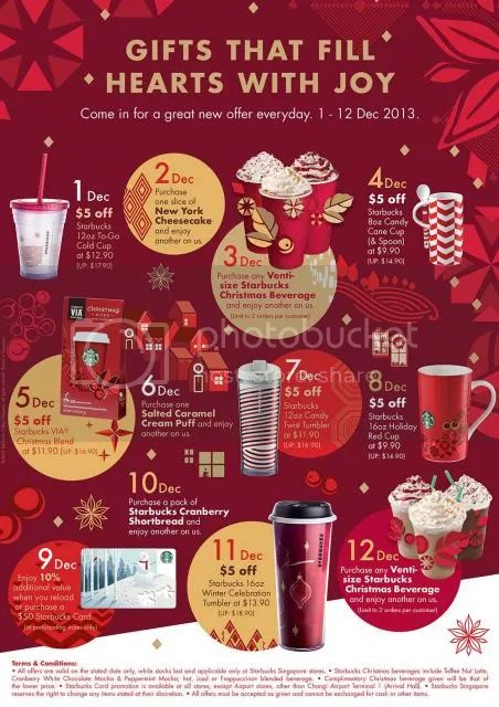 Starbucks Christmas Hours.12 Days Of Christmas With Starbucks The Fifth Parlour