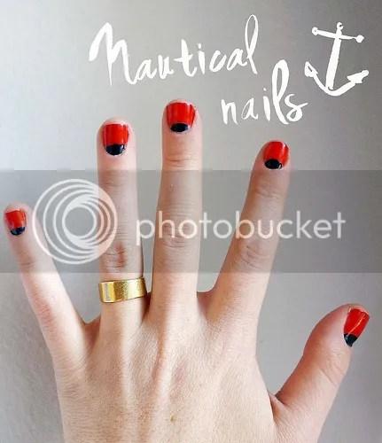 nail art design, moon manicure