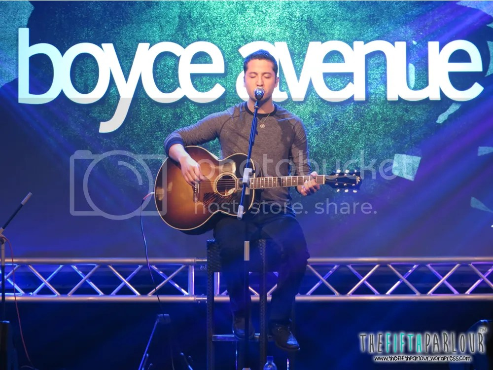 boyce avenue, youtube fanfest, day 2, youtube, thefifthparlour, acoustic gig
