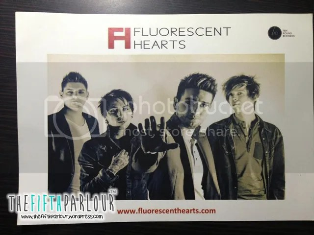 Fluorescent Hearts, Music Matters 2013, Thefifthparlour, Youtube