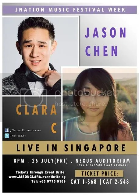 jason chen, clara c, singapore music concerts