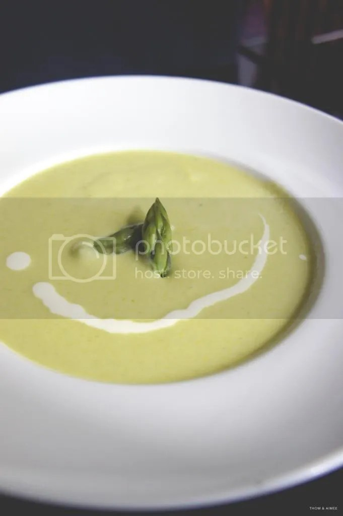 Potage Crème D'asperges Vertes (Cream of Fresh Green Asparagus Soup ...