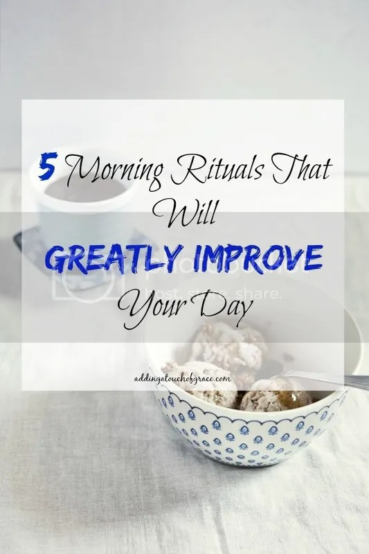 morning rituals to improve your day