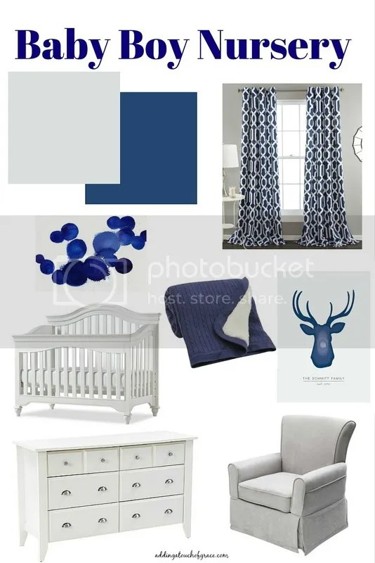baby boy nursery design