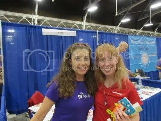 GF Jules and me at the Gluten-Free Food Allergy Fest in Indianapolis, Indiana!