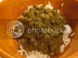 Tasty Bite Agra Peas and Greens over jasmine rice