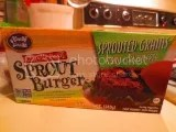 Health Is Wealth Sprouted Grains Chipotle Bean Sprout Burger