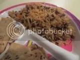 A serving of Tasty Bite Ginger Lentil Rice