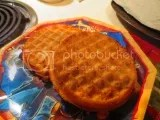 Simple Truth Gluten-Free Blueberry Waffles (toasted)