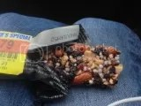 CLIF Mojo Wild Blueberry Almond Fruit & Nut Trail Mix Bar (unwrapped)