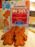 Mi-Del Gluten-Free Gingerbread Men Cookies