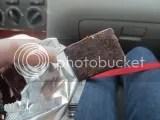 Oskri Fig Dark Chocolate Bar (unwrapped)