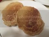 Perfect pancakes made from Annie May's Sweet Café Allergen Free Pancake and Waffle Mix