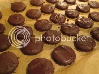 Gluten-Free Thin Mint Cookies