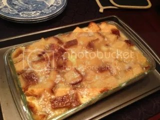 Gluten Free Lemon Bread Pudding