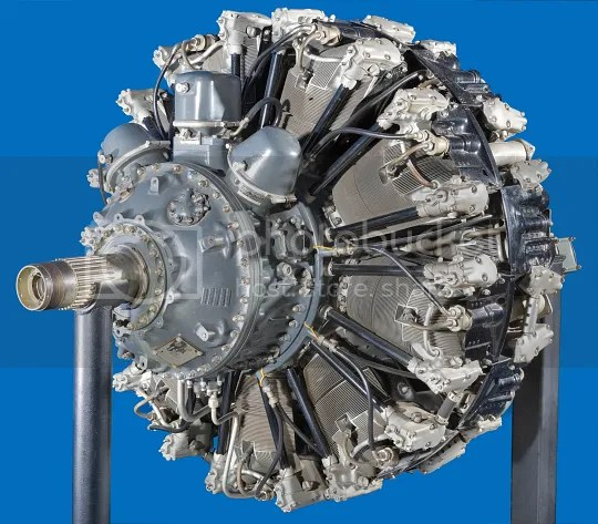Resultat d'imatges de motors radials de 18 cilindres en doble estrella