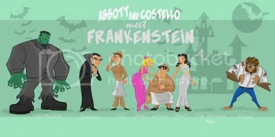 abbott and costello meet frankenstein,scott cooper,artist