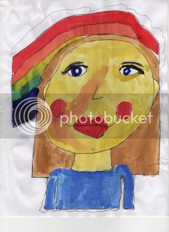 Self-Portrait with a Sunburn