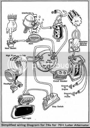 78 shovel ingition wiring?????  Harley Davidson Forums