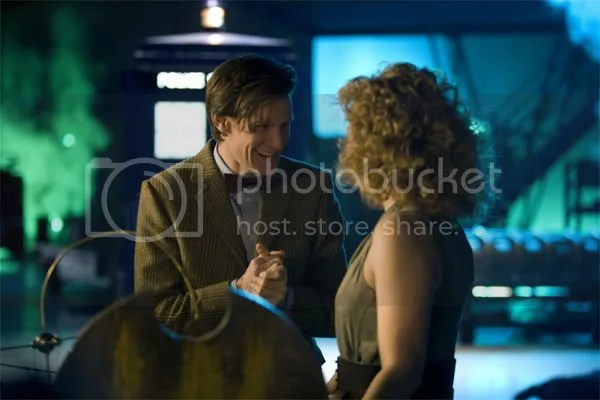River Song tells the Doctor who she really is