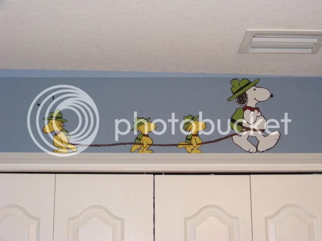 Snoopy Peanuts Nursery Mural Mandi Ilene S Blog