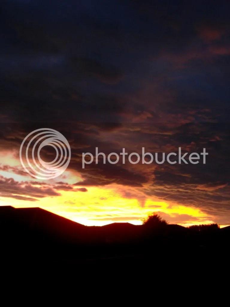Sunset Over Talbot Road