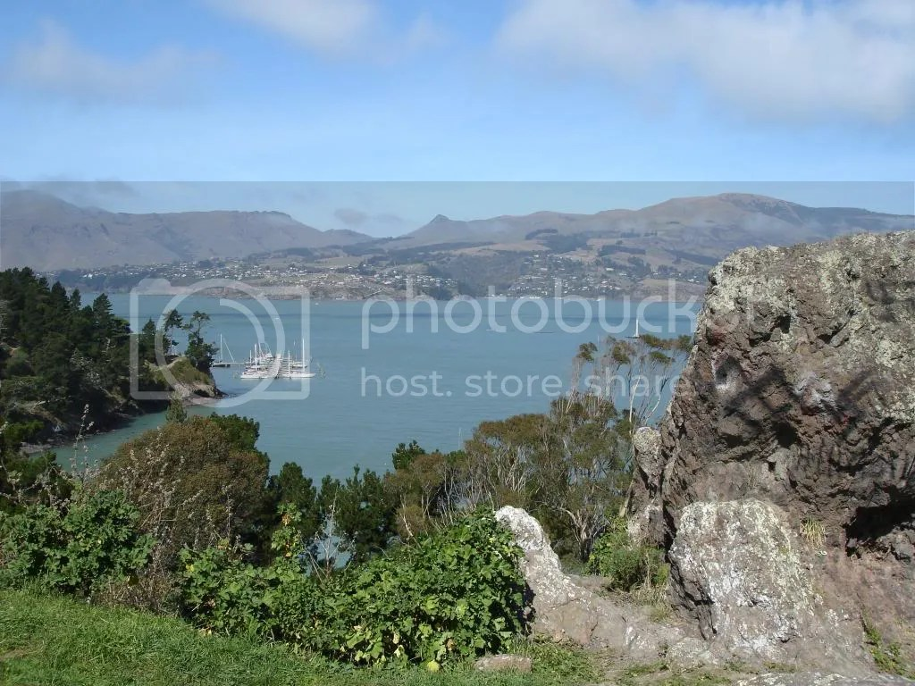 Lyttelton Harbour from Rapaki