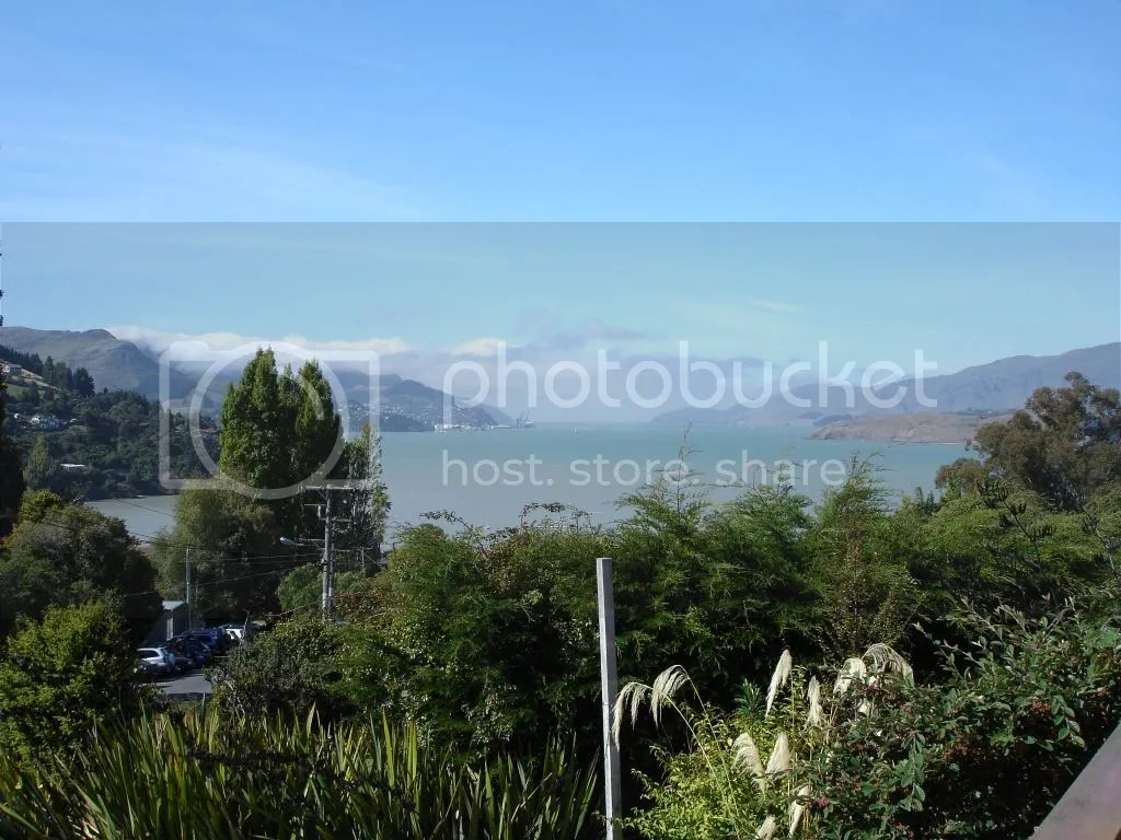 Lyttelton Harbour from Governors Bay