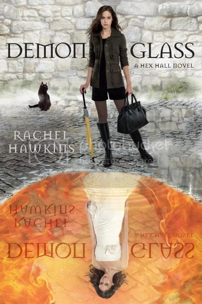 Demonglass by Rachel Hawkins Cover - Review