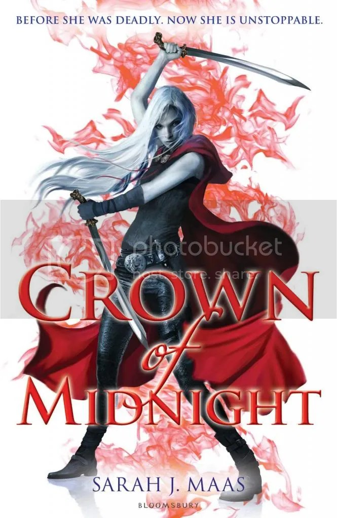 Crown of Midnight by Sarach J. Maas - Cover - Review