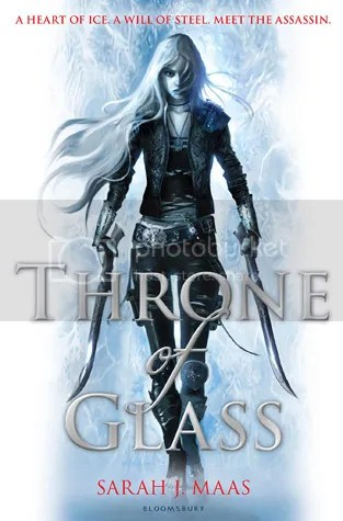 Throne of Glass by Sarah J. Maas Cover - Review