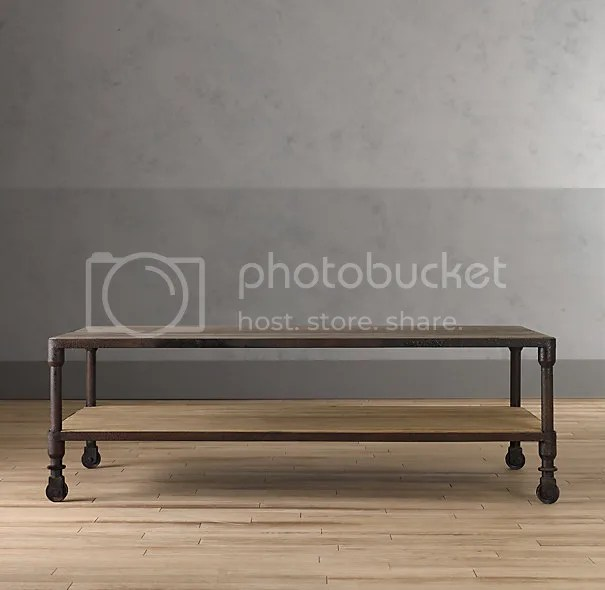 Industrial Coffee Table - All Precious & Pleasant