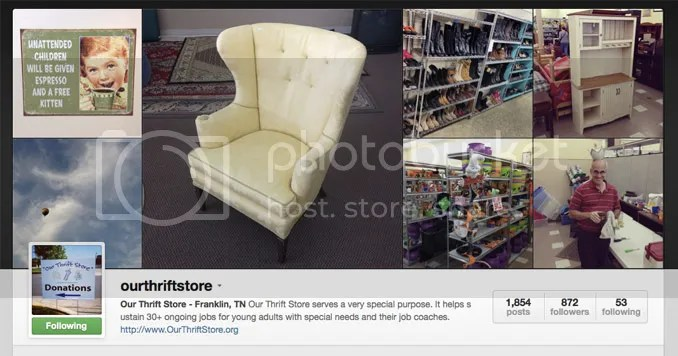 Where To Shop - Our Thrift Store