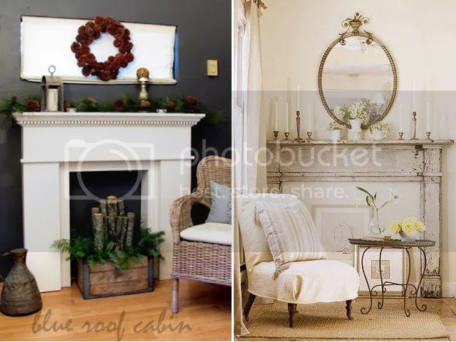 all precious & pleasant blog -- mantel love