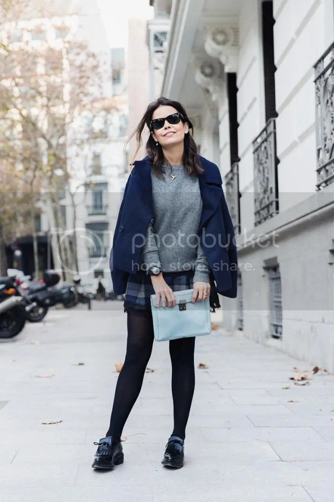 photo Checked_Skirt-Cashmere_Sweater-Navy_Jacket-Loafers-Outfit-Street_Style-Collage_Vintage-22_zps441974f5.jpg