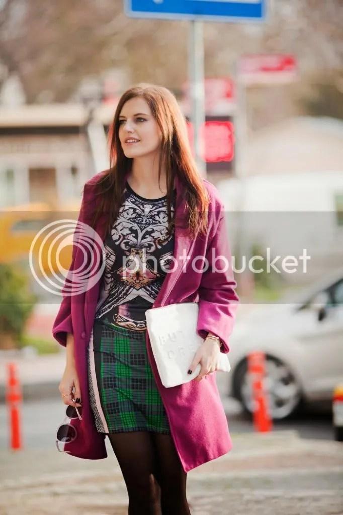 photo viktoriya sener fashion blogger from turkey wearing purple romwe coat printed mini dress freyrs pink sunglasses asos brogues_zpsk70w5ig5.jpg