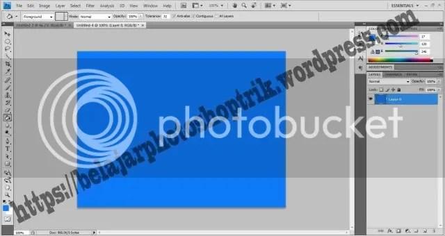 Belajar Photoshop Memahami Brush Untuk Pemula