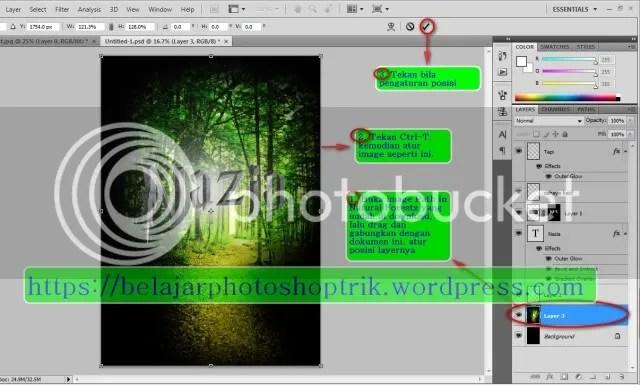 Belajar Photoshop Membuat Text Dengan Style Harry Potter